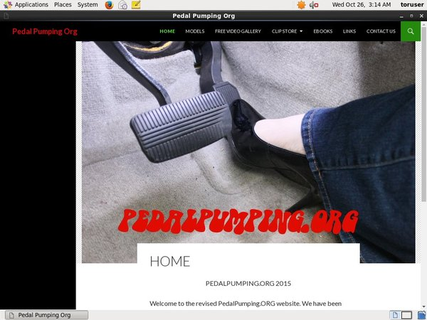 Account Free For Pedal Pumping Org