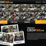 Czech Taxi With Master Card