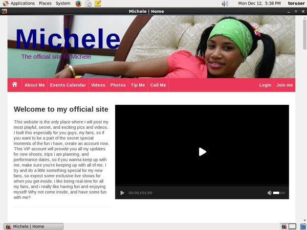 Michele Mobile Account