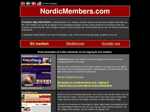 Nordic Members Limited Rate