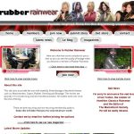 Rubber Rainwear Discount Promo