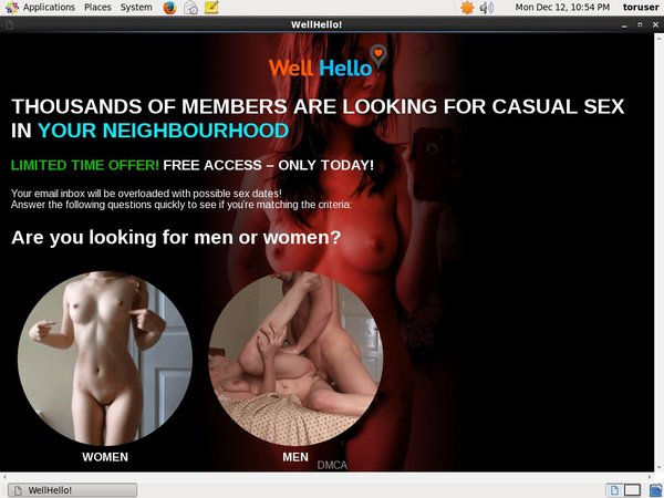 Wellhello.com Paypal Join