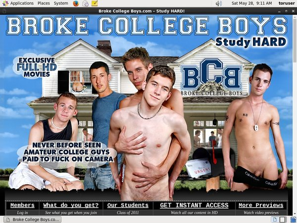 Broke College Boys Gift Card