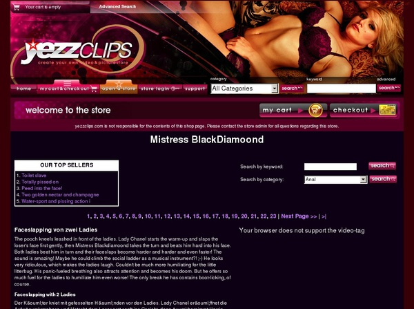 Accounts To Mistress Blackdiamoon