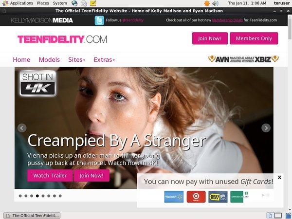 Teenfidelity.com Trial Free