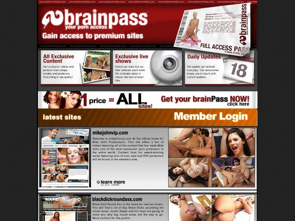 Brainpass Account 2015