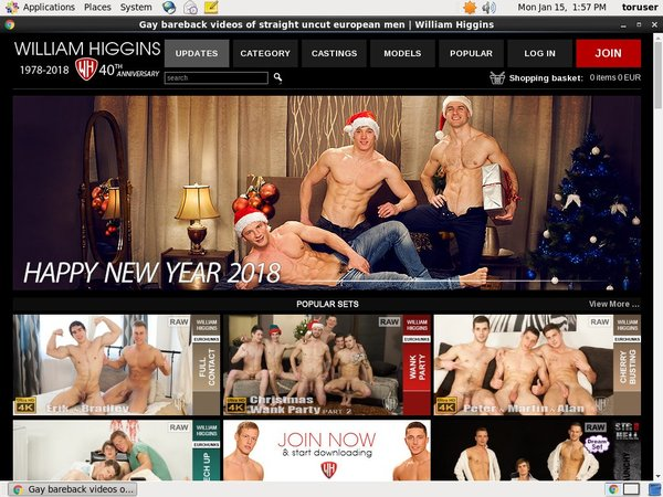 Williamhiggins.com Live Cams