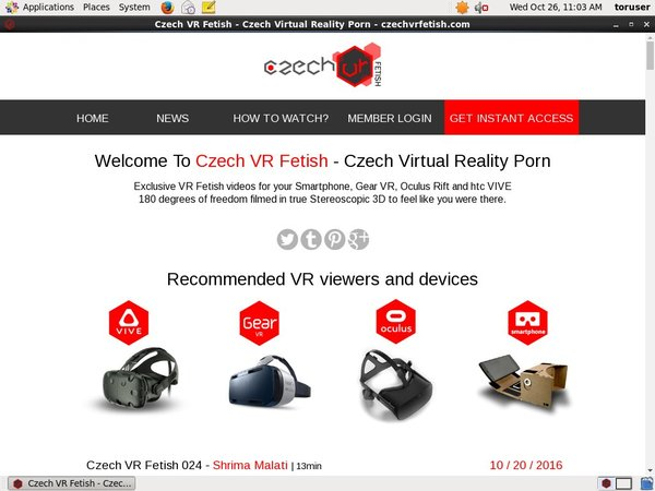 Best Czech VR Fetish