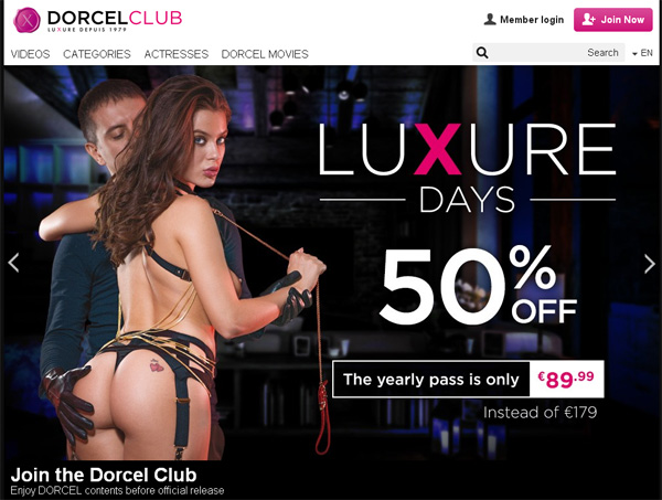 How To Access Dorcel Club