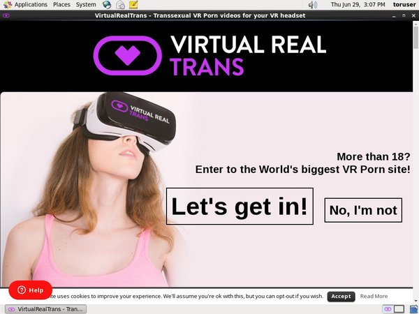 Virtual Real Trans Discount Checkout